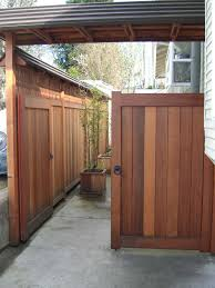 Macgregor Construction Japanese Style Driveway Gates And Fence Berkeley Ca