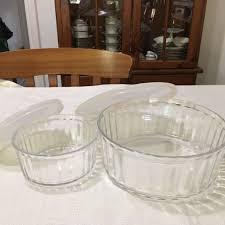 arc france flat bottom glass bowls