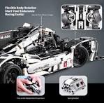 CADA Endurance Racing Model Assembling Educational Toys Black