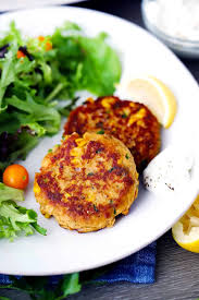 salmon patties aka salmon cakes or