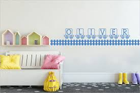 Personalized Train Wall Decal Railroad Track Wall Vinyl Etsy In 2020 Nursery Wall Decor Wall Decals Music Wall Decal