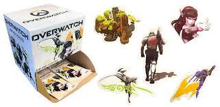 Overwatch Blind Bag Decal Gamestop