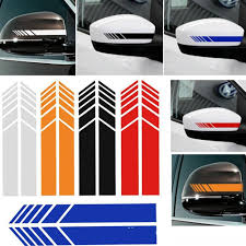 Turbocharged Side Mirror Decals Stickers Truck Racing Car Auto Decal
