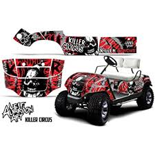 Amazon Com Wholesale Decals Golf Cart Graphics Kit Sticker Decal Compatible With Club Car 1983 2014 Bold Shredded Automotive