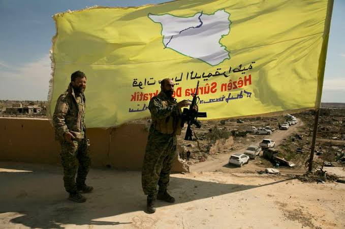"""Image result for us stand with sdf syrian democratic force in syria"""""""