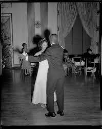"""Queen"""" Myra Campbell dancing with man in George Washington Hotel ..."""