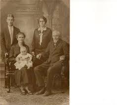 Melvin Brocious (Brother of Grandma C-ham), Myrle Brocious (mother ...