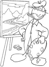 Donald Duck Kleurplaat Disney Kleurplaat Animaatjes Nl
