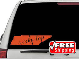 Tennessee Rocky Top Decal Volunteer State Home Car Vinyl Etsy