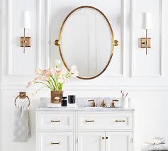 kensington pivot oval wall mirror