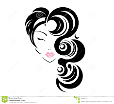 makeup and hair clipart