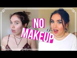 30 days of no makeup you