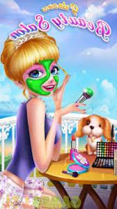 princess beauty salon birthday party