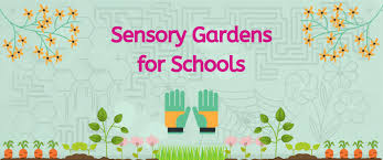 Design Ideas For A School Sensory Garden Play Area For Children