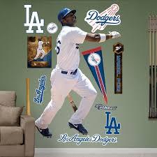 Fathead Los Angeles Dodgers Yasiel Puig Wall Decals