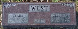 """Cleophas """"Cleo"""" West (1898-1962) - Find A Grave Memorial"""