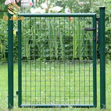 China Supplier Hot Dipped Galvanized Wire Garden Fences And Gates Designs China Garden Gate Fence Gate