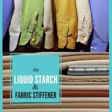 laundry starch fabric stiffener