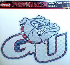 Gonzaga Bulldogs Sd Medium 8 Perforated Auto Window Film Decal University Of Ebay