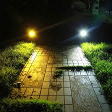 rgb color changing outdoor solar garden