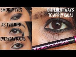create smokey eyes