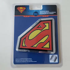 1pc New Superman Logo Chrome Aluminum Emblem For Car Trucks Hood Fender Trunk Window Walmart Com Walmart Com