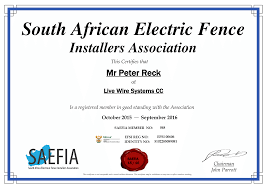 Electric Fencing Safety And Electric Fencing Regulations Live Wire Electrified Fencing Western Cape Cape Town