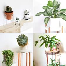 20 thrifty diy plant stands frugal