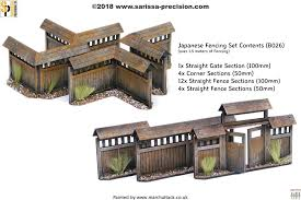 Japan Fence Set Warlord Games Ltd