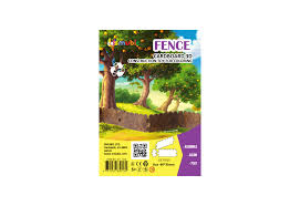 3d Constructor Fence For Kids And Adults From Eco Cardboard