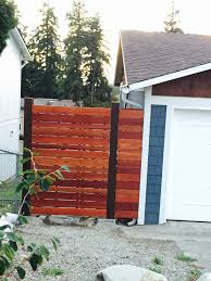 Horizontal Fence On A Slope What S The Best Design Home Improvement Stack Exchange
