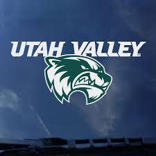 Utah Valley Mascot Decal Utah Valley University Bookstore