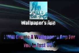 develop a wallpaper app for you by