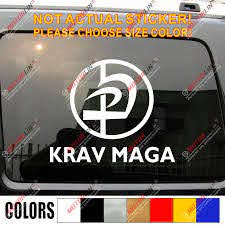 Multi Dimension Krav Maga Combat Idf Israel Defence Force Roundel Car Decal Bumper Sticker Choose Your Color Bumper Sticker Car Decalcar Decal Sticker Aliexpress