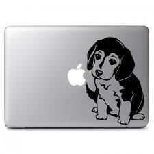Cute Puppy Beagle Dog Apple Macbook Air Pro 11 13 15 17 Vinyl Decal Sticker Dreamy Jumpers