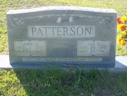 Ada Davis Patterson (1891-1963) - Find A Grave Memorial