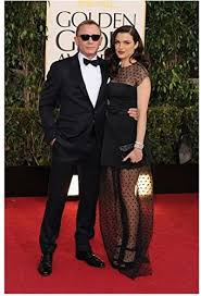 Rachel Weisz Red Carpet in polka dot glam with husband Daniel Craig 8 x 10  inch Photo at Amazon's Entertainment Collectibles Store