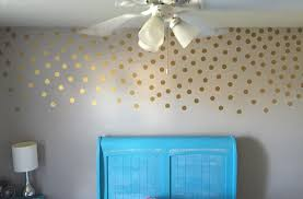 Amazon Com Gold Wall Decal Dots 200 Decals Easy Peel Stick Safe On Walls Paint Removable Metallic Vinyl Polka Dot De Polka Dot Decor Gold Wall Decals