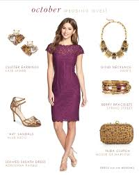 what to wear to an october wedding