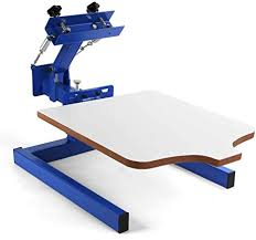 shzond screen printing press 1 color 1