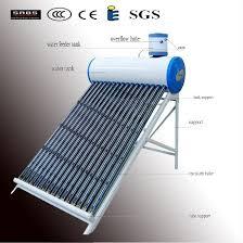 homemade solar panels to heat water