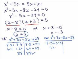 solving equations by factoring 2 you