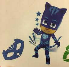 New Disney Pj Masks 6 Piece Small Wall Decals