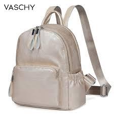vaschy golden mini backpack purse