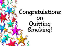 Image result for Congratulations for not smoking