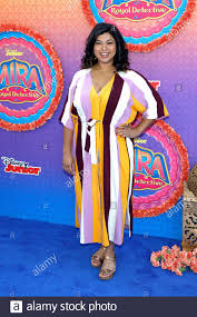 March 7, 2020, Burbank, CA, USA: LOS ANGELES - MAR 7: Aarti Sequeira at the  Premiere Of Disney Junior's ''Mira, Royal Detective'' at the Disney Studios  on March 7, 2020 in Burbank,