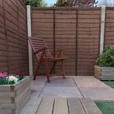 Adley 6 X 6 Pressure Treated Lap Fence Panel