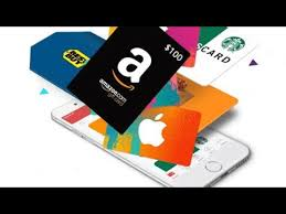 amazon or visa gift cards