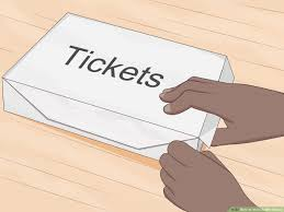 3 ways to make raffle tickets wikihow
