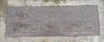 "Clifford Orin ""Cliff"" Olson (1905-1990) - Find A Grave Memorial"